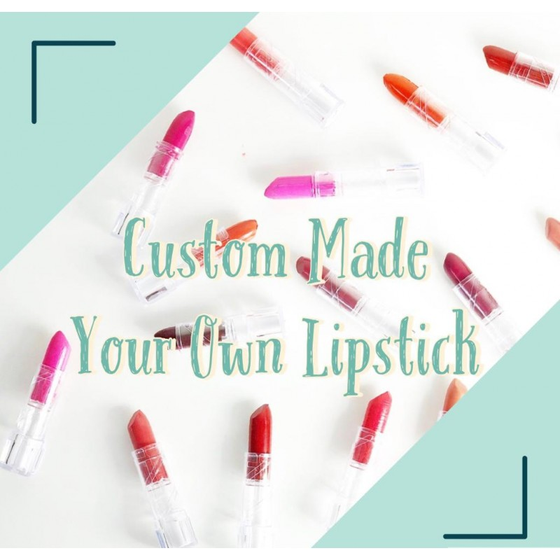*Made for You - Custom Made Lipstick  度身訂造天然唇膏