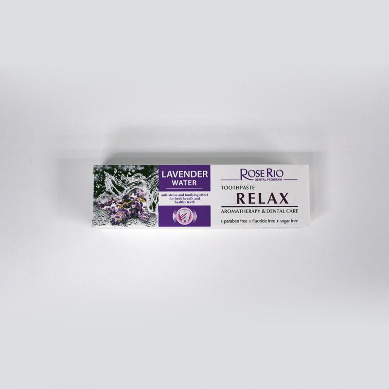Rose Rio Organic Lavender Water Toothpaste 有機薰衣草花水牙膏